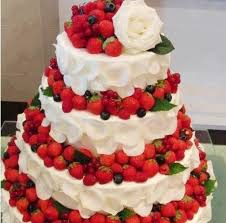 Cakes Decorated With Fruit by 20 Best Wedding Cake Flavors And Ideas For Different Seasons