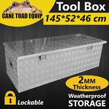LARGE Tool Box Aluminium Tool Storage W Lock Bar UTE Trailer Truck ... Alinium Toolbox 3 Door Ute Truck Storage Trailer Tool Box Camper Whosale Truck Tool Box Online Buy Best From China 24 29 32 36 49 Alinum Rv Underbody Sealey Truck Box Steel Chest Heavy Duty Secure 1275 X Lund 67 In Cross Bed Box9353db The Home Depot Buyers Products Heavyduty Bpack Black 85inl Side Mount Tradesman Job Site 193006 Boxes At Uws Ec20302 55 Inch Wedge 60 Notched Packaging Ec20342 Boxes For Beds