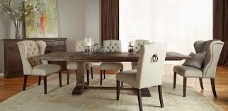 hudson rustic java 5 piece formal dining set rustic dining
