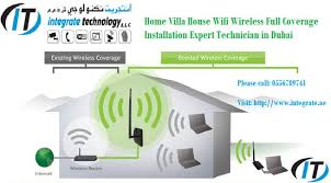 Home wifi internet support IT technician Dubai