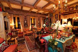Southern Living Living Room Furniture by Holiday Installation Of Southern Style Great Room Traditional