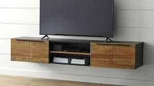 Wall Mounted Cabinet For Tv 5 Large Floating Media Console Crate And Barrel Homey
