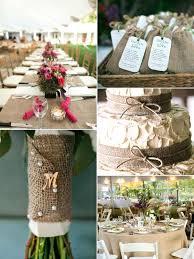 Wedding Burlap Decorations For Weddings Warm