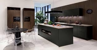 moderne küche havannaschwarz sherwood dunkelbraun