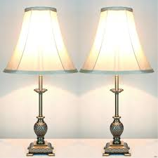 Vintage End Table With Lamp Attached lamp shades for table lamps nightstand end small sets full size of
