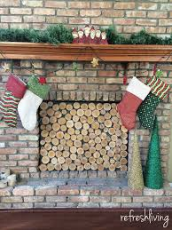 Fab Art DIY Rustic Log Decorating Ideas For Home And Garden5