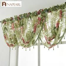 Waterfall Valance Curtain Set by Online Buy Wholesale Sheer Waterfall Valance From China Sheer