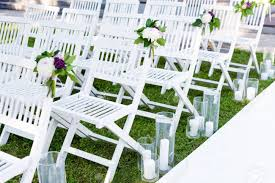 Beautiful Wedding Set Up. Wedding Ceremony In The Garden. White.. 16 Easy Wedding Chair Decoration Ideas Twis Weddings Beautiful Place For Outside Wedding Ceremony In City Park Many White Chairs Decorated With Fresh Flowers On A Green Can Plastic Folding Chairs Look Elegant For My Event Ctc Ivory Us 911 18 Offburlap Sashes Cover Jute Tie Bow Burlap Table Runner Burlap Lace Tableware Pouch Banquet Home Rustic Decorationin Spandex Party Decorations Pink Buy Folding Event And Get Free Shipping Aliexpresscom Linens Inc Lifetime Stretch Fitted Covers Back Do It Yourself Cheap Arch
