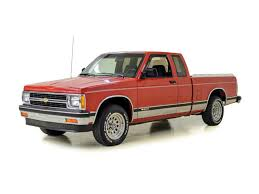100 S10 Chevy Truck For Sale 1991 Chevrolet For ClassicCarscom CC1090334