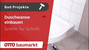 dusche erneuern kaufen otto baumarkt