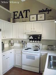 Really Liking These Small Kitchens Kitchen Cabinet DecorationsAbove