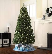 Kmart Small Artificial Christmas Trees by Ideas Black Console Table With Table Lamp And Classic Pre Lit