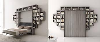 canap avec biblioth que int gr e lit escamotable avec canape integre ikea