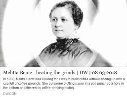 She Invented The First Coffee Filter By Lining A Punctured Brass Cup With Blotting Paper T1pde 7529 GI Australienpictwitter OJC5IzMPXt