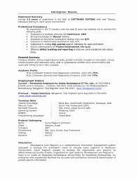 Selenium Testing Resume