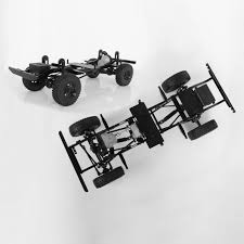 100 Truck Chassis RC 4WD 110 Gelande II 4WD Kit LWB Kit RC 4WD ZK0061