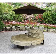 Walmart Patio Tilt Umbrellas by Mainstays Deluxe Orbit Chaise Lounge With Umbrella U0026 Side Table