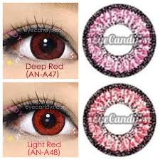 Halloween Contacts Without Prescription by Vassen Cherry Red Contact Lenses Halloween Pinterest Red