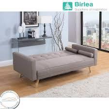 Dash Dark Gray Microfiber Sofa
