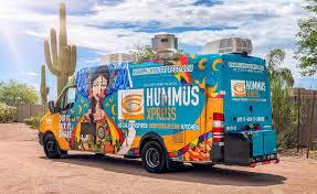 100 Food Trucks In Phoenix FOOD TRUCK HUMMUS XPRESS