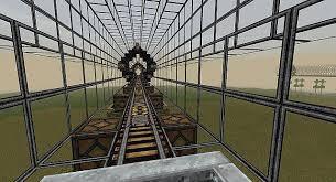 Minecraft Automatic Pumpkin Farm 1112 by Modular Elevated Railway Minecraft Project