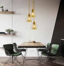 nordic design rauch grau kupfer anhänger lichter villa küche hängen len leuchte esszimmer luxus wohnkultur led leuchten