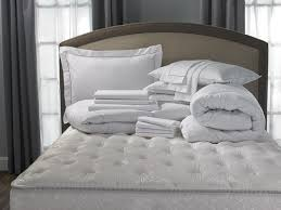 Bed Comforter Set by Hotel Stripe Bed U0026 Bedding Set Hilton To Home Hotel Collection