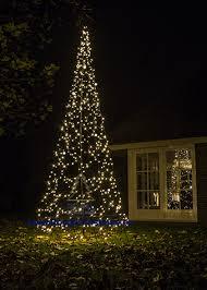 Flagpole Christmas Tree Lighting 42 M 420 Cm