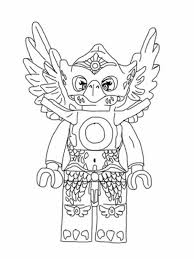Lego Chima Eris Princess Of The Eagle Tribe In Coloring Pages