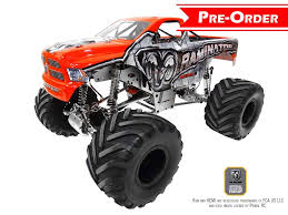 100 Rc Truck With Plow Primal RC 15 Scale Raminator Monster