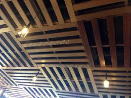 Diy Unfinished Basement Ceiling Ideas by Ceiling Made From Pallets Pallets To Furniture Pinterest