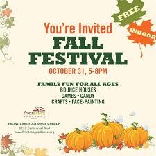 Pumpkin Patches Around Colorado Springs by Indoor Fall Festival Colorado Springs Co Kids Events Colorado