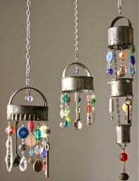 I Also Love The Utensil Chimes And Decorative Pieces Really Best Reuse Of These Items