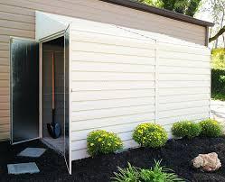 Rubbermaid Slim Jim Storage Shed Instructions amazon com arrow shed ys410 a yard saver 4 feet by 10 feet steel