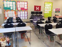Classroom Desks In Groups