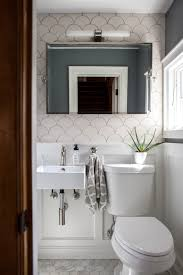 Narrow Master Bathroom Ideas by White Moroccan Fish Scale Tile Bathroom Kitchen Pinterest