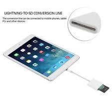Lightning Adapter to SD Card Camera Reader for apple iPad