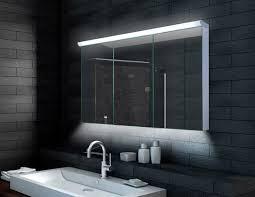aluminium led beleuchtung badezimmer spiegelschrank 120x70cm lmc12070