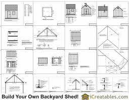 12x12 Shed Plans Pdf by 12x12 Cape Cod Garden Style Shed Plans