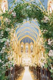 Beautiful Church Wedding Ceremony Decoration Ideas
