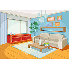 living room inside house background clipart living room