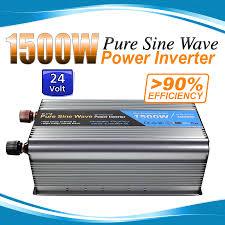 100 Truck Power Inverter 24v Pure Sine Wave 1500w3000w AUS Plug