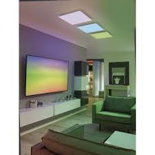 led panel smart home fernbedienung rgbw 45x45cm o 62x62cm