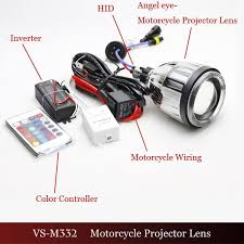 hid bixenon projector headlight for motorcycles eagle eye