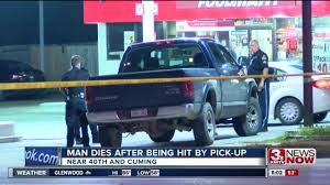 Omaha Man Dies After Being Hit By Pickup Truck - KMTV.com Man Found Dead In Burning Truck Moorpark Identified Chemical Companies Are Killing Everything Packs Truck Full Of Gravenhurst Man After Hitting A Hydro Pole My Pickup Shot To Death Outside Houston Hotel Cw39 1 Collides Into An Occupied Home Weyi Diapur Dies Crash Near Nhill The Wimmera Mailtimes Missing Carmel White River Cbs 4 Indianapolis Town Tonawanda Found Dead Under After Driver Arrives Home Nbc Bay Area Police Identify On Wrightsville Beach Port City Daily
