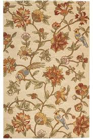 LALs on Clearance Pottery Barn Bird Floral Rug