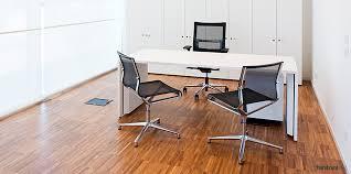 TRE White Single Office Desk