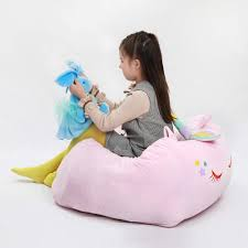Unicorn Stuffed Animal Toy Storage Bean Bag   Stop Tripping ... Nobildonna Stuffed Storage Birds Nest Bean Bag Chair For Kids And Adults Extra Large Beanbag Cover Animal Or Memory Foam Soft 7 Best Chairs Other Sweet Seats To Sit Back In Ehonestbuy Bags Microfiber Cotton Toy Organizer Bedroom Solution Plush How Make A Using Animals Hgtv Edwards Velvet Pouch Soothing Company Empty Kid Covers Your Childs Blankets Unicorn Stop Tripping 12 In 2019 10 Of Versatile Seating Arrangement