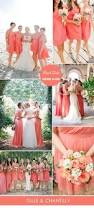 Coral Color Decorating Ideas by Best 25 Coral Bridesmaid Dresses Ideas On Pinterest Coral