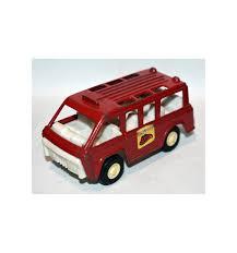 100 Tootsie Toy Fire Truck Department Crew Van 1970